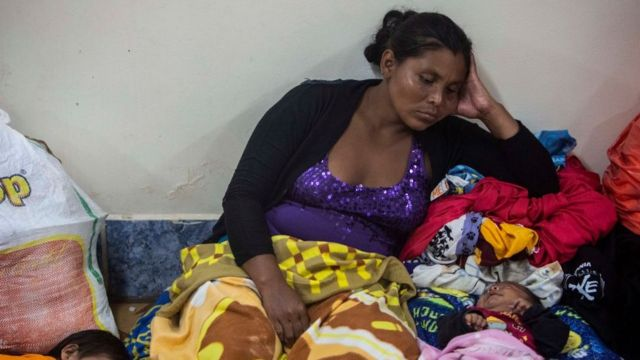 Refugio en Nicaragua.