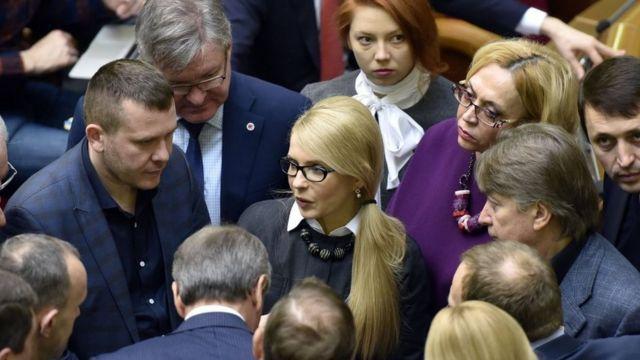Юлія Тимошенко у парламенті