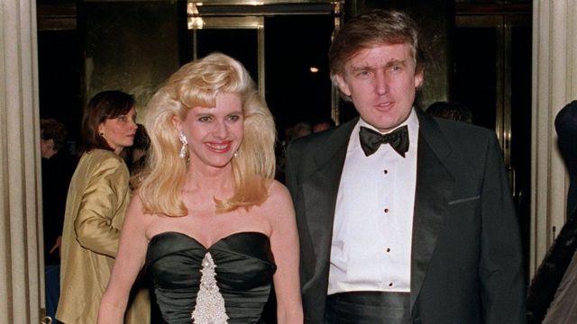 Donald Trump and Ivana