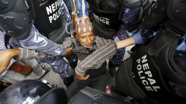 Why is Nepal's new constitution controversial?