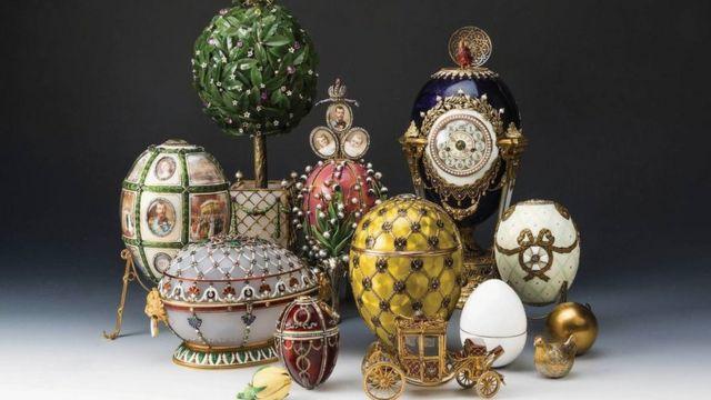 Императорские яйца из коллекции Вексельберга