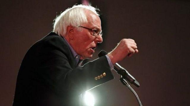 Bernard Sanders avait perdu l'investiture démocrate en 2016, face à Hillary Clinton.