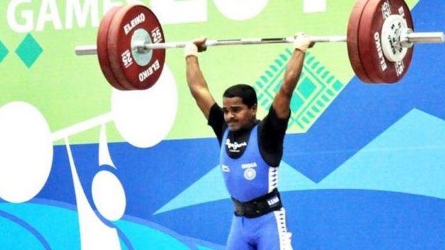 காமன்வெல்த் போட்டியில் தங்கப் பதக்கம் வென்றார் இந்தியாவின் மிராபாய் சானு