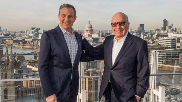 ディズニーで長年、最高経営責任者を務めるボブ・アイガー氏は、ルパート・マードック氏と買収に合意した