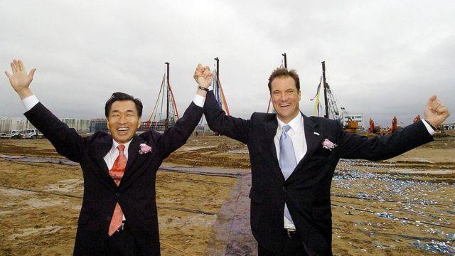 Dos de los promotores del proyecto