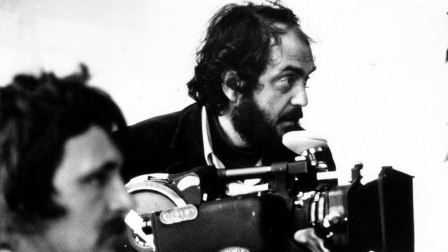 Stenli Kjubrik na snimanju Berija Lindona