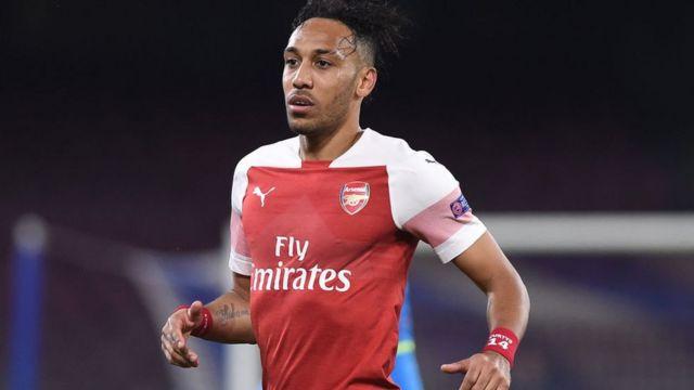 Le Gabonais Pierre-Emerick Aubameyang, attaquant d'Arsenal, est l'un des joueurs ciblés par les insultes racistes au cours de cette saison.