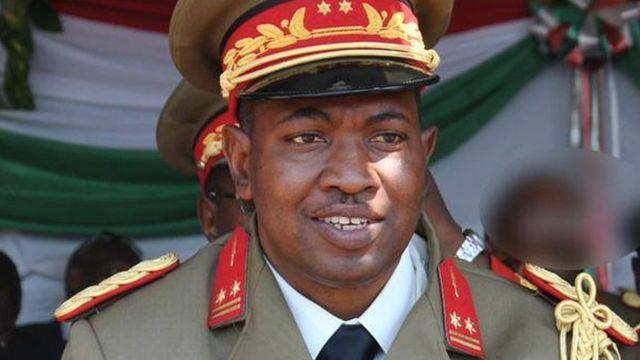 Maj. Gen. Godefroid Niyombare wari ukuriye umugambi wo guhirika Nkurunziza ku butegetsi mu 2015 ntiyongeye kumvikana kuva icyo gihe