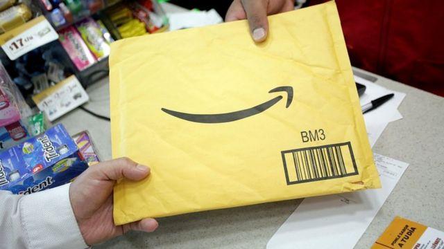 Sobre de Amazon