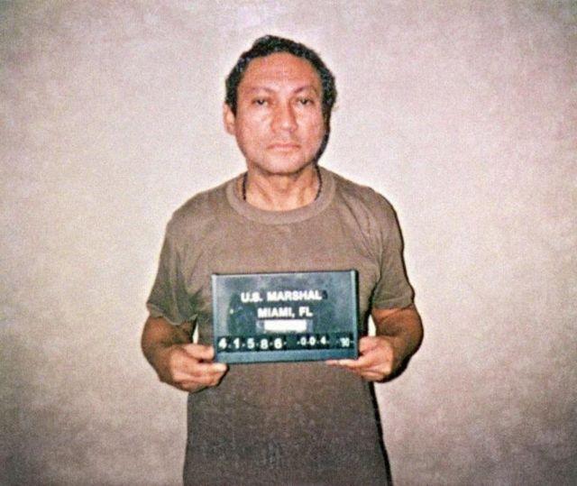 Manuel Noriega encarcelado