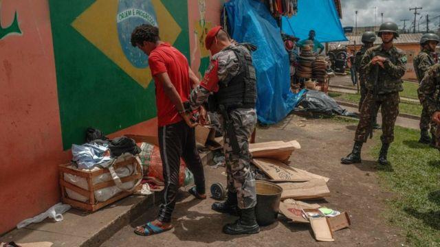 Arrestos en Brasil