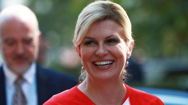 President Kolinda Grabar-Kitarovic