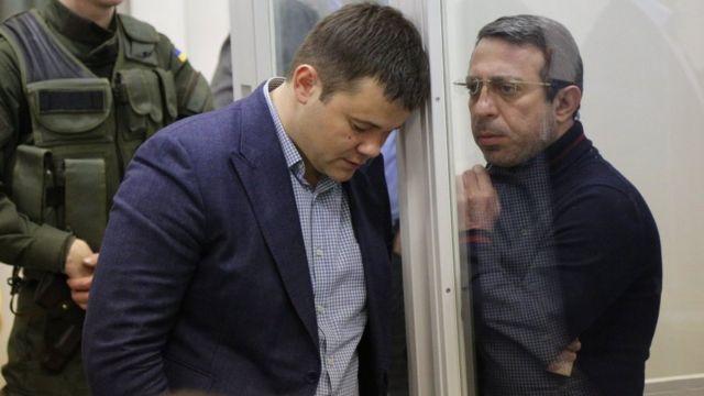 Андрей Богдан и Геннадий Корбан