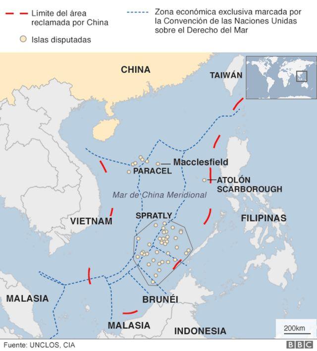 Conflicto Mar de China Meridional.