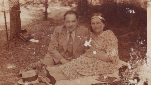 Иван Тиктор с женой Марией