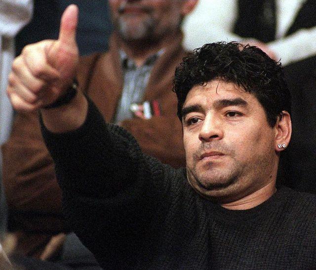 Diego Maradona en 2000