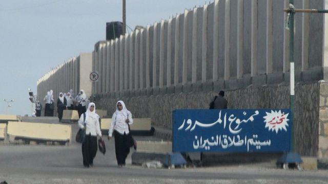 صورة التقطت في مدينة العريش في عام 2014