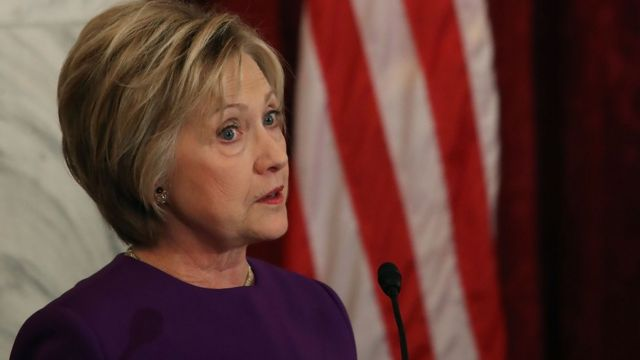 "Hillary Clinton yavuze ko ibikorwa by'Uburusiya ari ""igitero ku gihugu cyacu"""