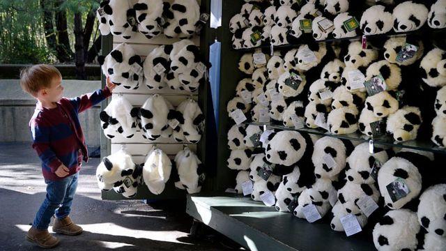 игрушки-панды