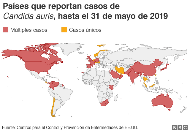 Mapa BBC