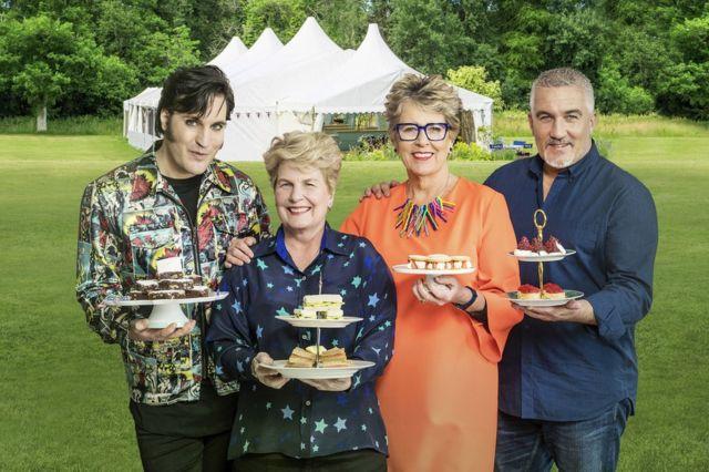 Voditelji britanske kulinarske emisije