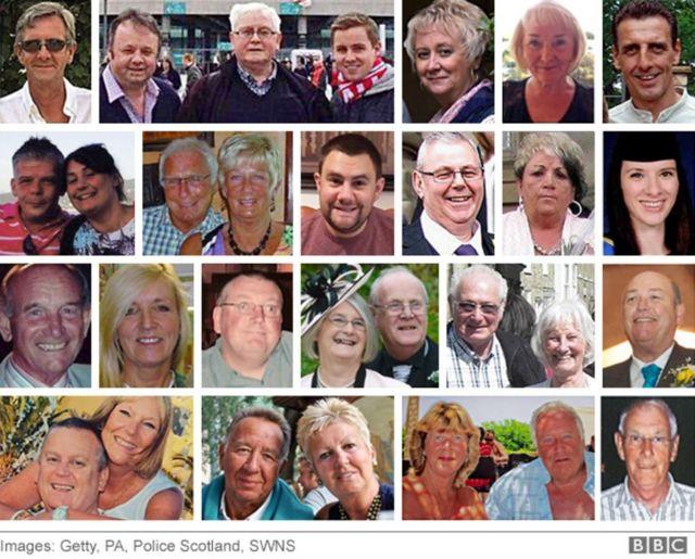 صور ضحايا الهجوم البريطانيين
