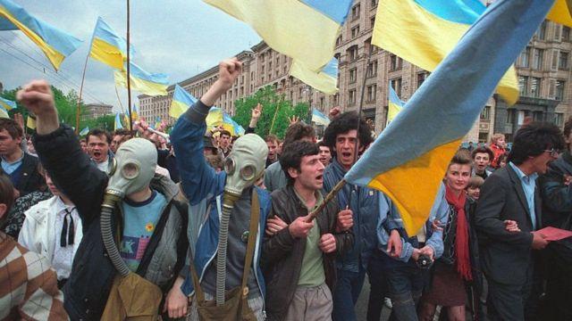 Київ, квітень, 1990 року