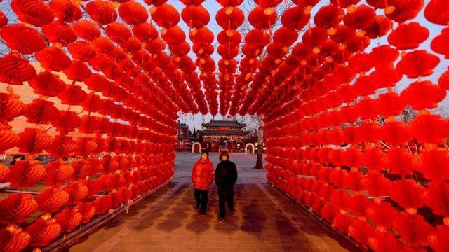 السنة الجديدة في التقويم الصيني