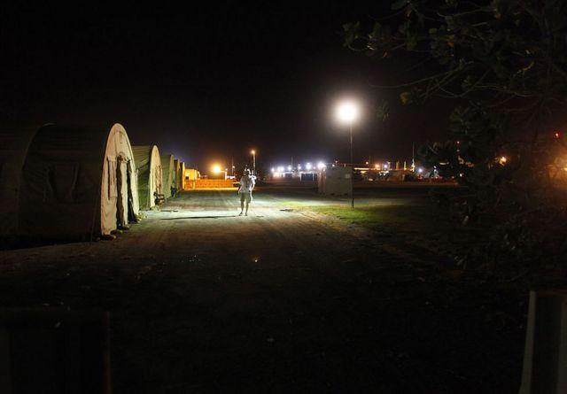 Camp Justice em Guantanamo