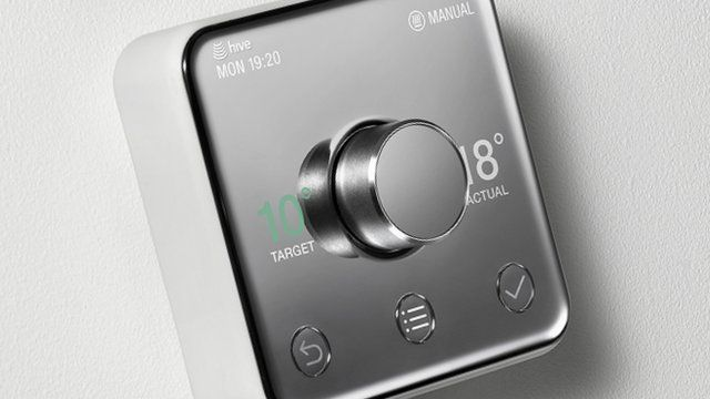 A Hive thermostat