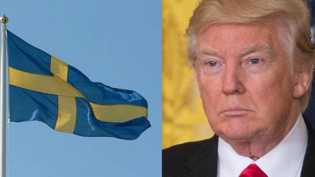 Swedia, Trump