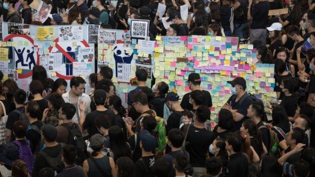 香港連儂牆