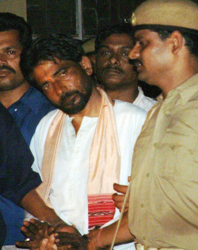 ஆயுட்தண்டனை பெற்ற தாரா சிங் (2003ம் ஆண்டு செப்டம்பர் 22ம் தேதி எடுக்கப்படம்)