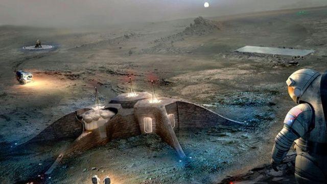 поселения на Марсе