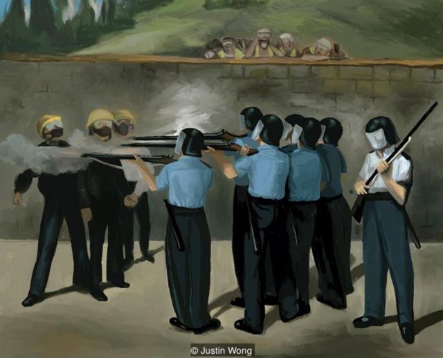 Justin Wong, Execution