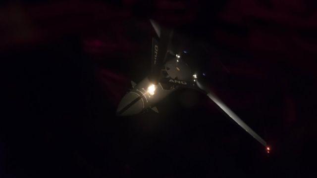Bombardero B1-B de Estados Unidos.