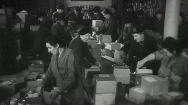 Women volunteering during World War II