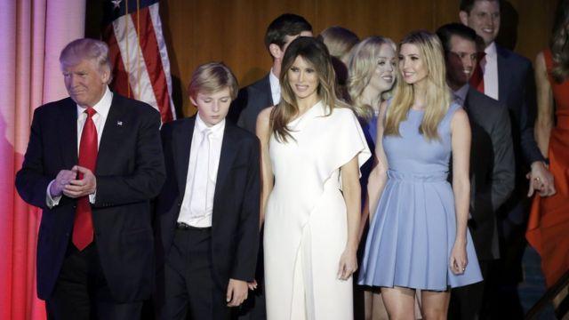 डोनल्ड ट्रंप का परिवार