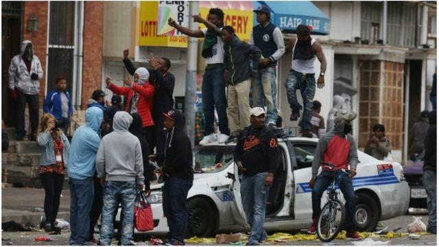 Baltimore, manifestation