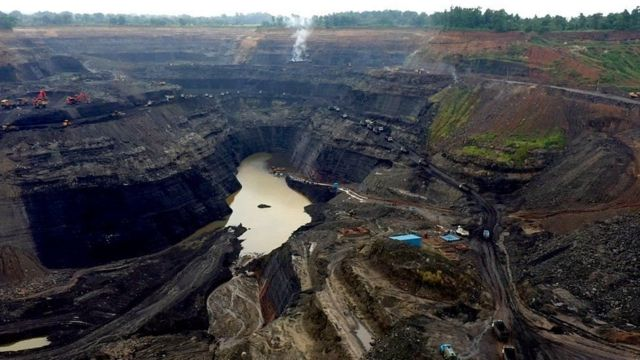 Most of India's coal mines are in Jharkhand, Chhattisgarh and Odisha.