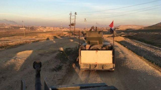 قوات عراقية تتقدم باتجاه المناطق الغربية من الموصل