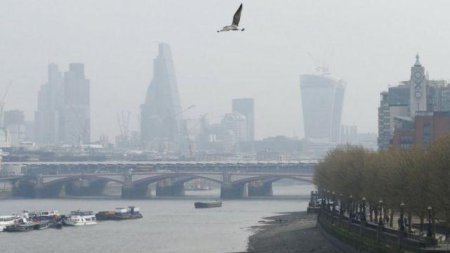 영국 런던 대기 오염