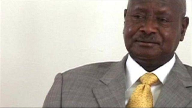 Madaxweyne Musaveni