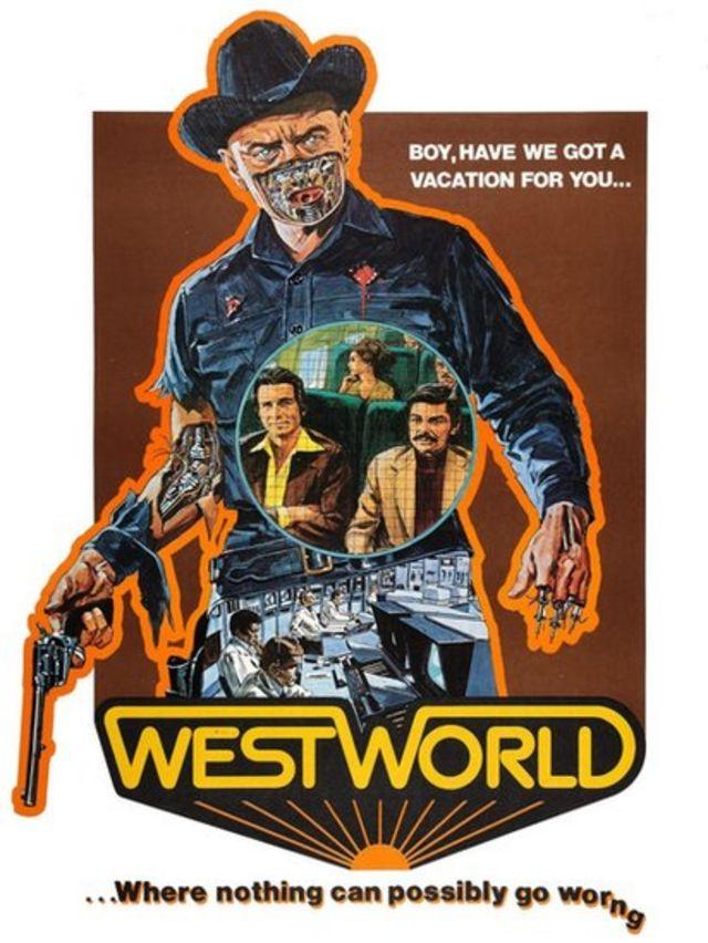 Carátula de la película Westworld de 1973.