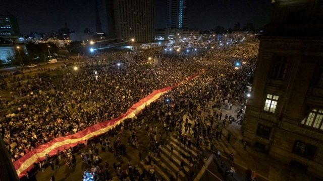 Manifestaciones en Lima