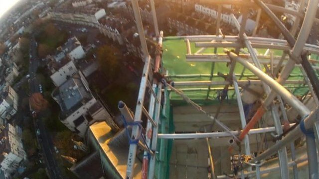 View from Christchurch spire