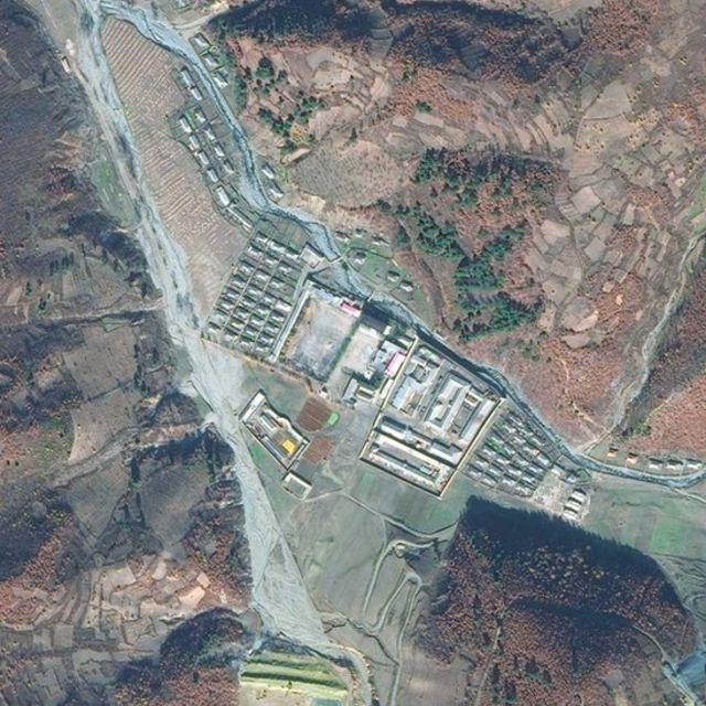 Centro de detención de Onsong, en el extremo norte de Corea del Norte