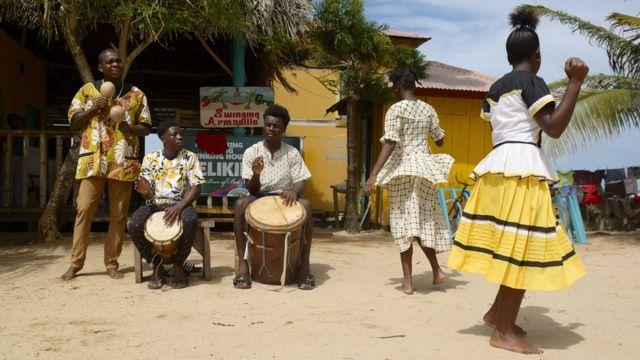 Grupo musical garífuna.