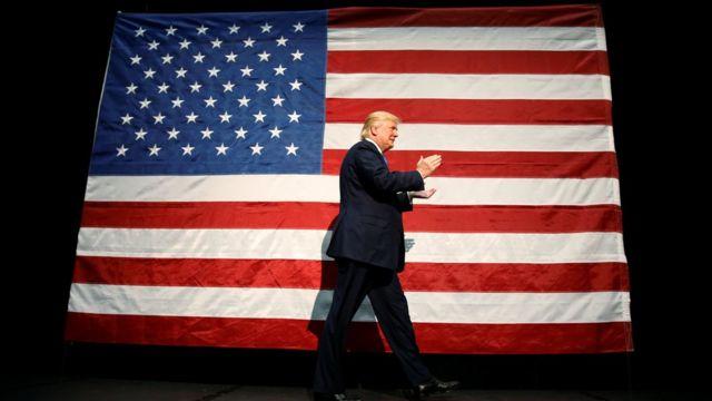 Donald Trump, Amerika Serikat