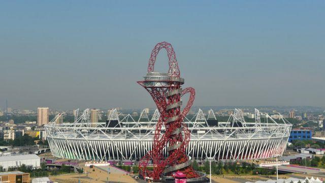 Orbit, escultura no Parque Olímpico de Londres